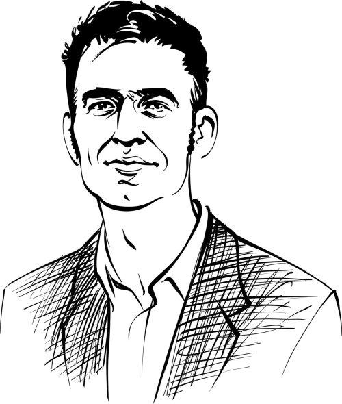 Man portrait illustration