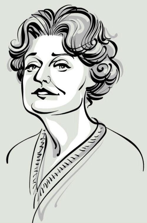 The Economist Muriel Winks animation
