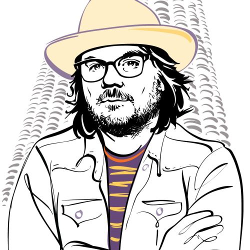 Chicago Magazine Jeff Tweedy Portrait animation