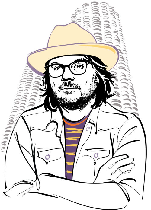 Chicago Magazine Jeff Tweedy Portrait animation