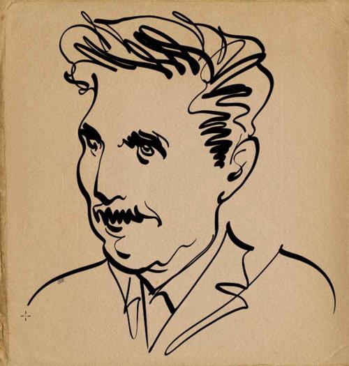 The Stranger Magazine George Orwell animation