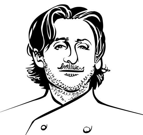 Cincinnati Chef with a suspicious moustache