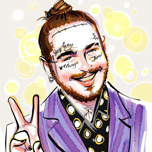 Post Malone Portrait