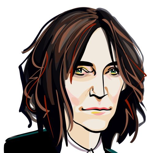 Musician Patti Smith  Portrait