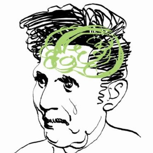 George Orwell illustrative graphic