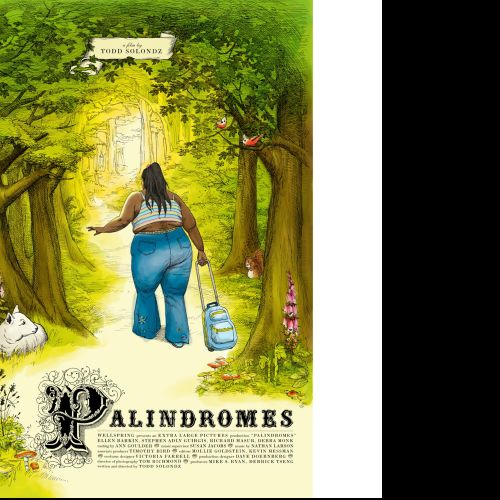 Palindromes movie poster design