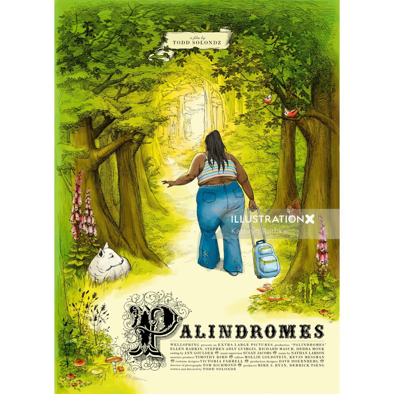 Palindromes movie poster design