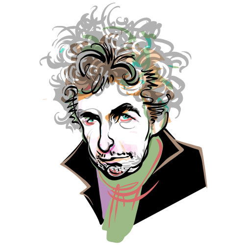 Intelligent Life Bob Dylan Digital portrait