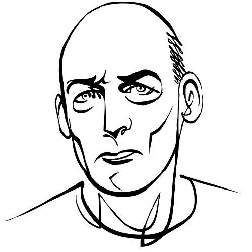 Art portrait de Rem Koolhaas