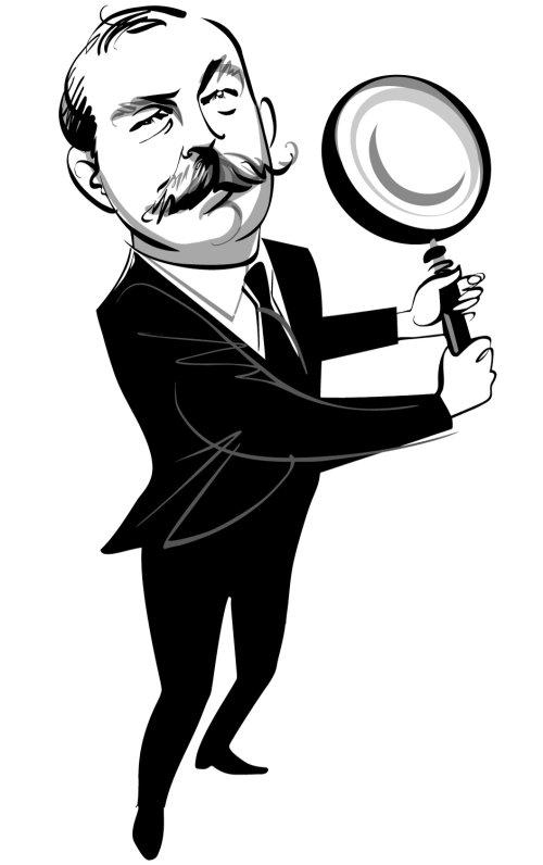 Sir Arthur Conan Doyle Portrait