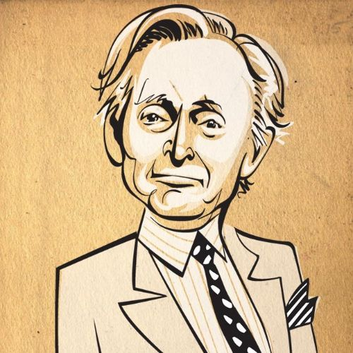 Martin Amis & Tom Wolfe Portrait