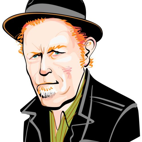 Portrait of Tom Waits