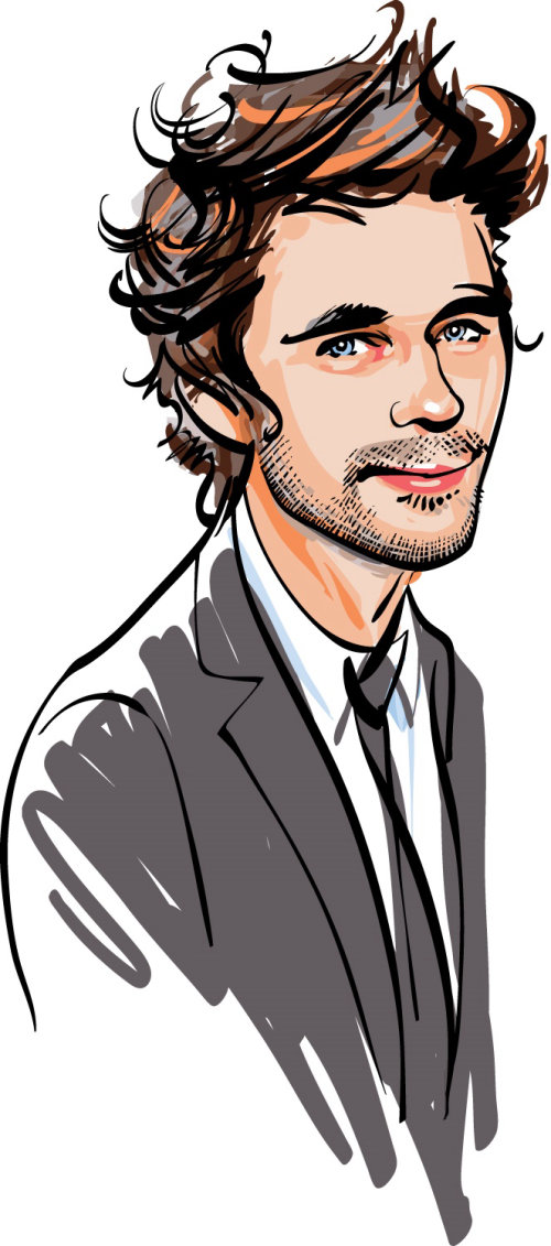 Portrait of Ben Whishaw