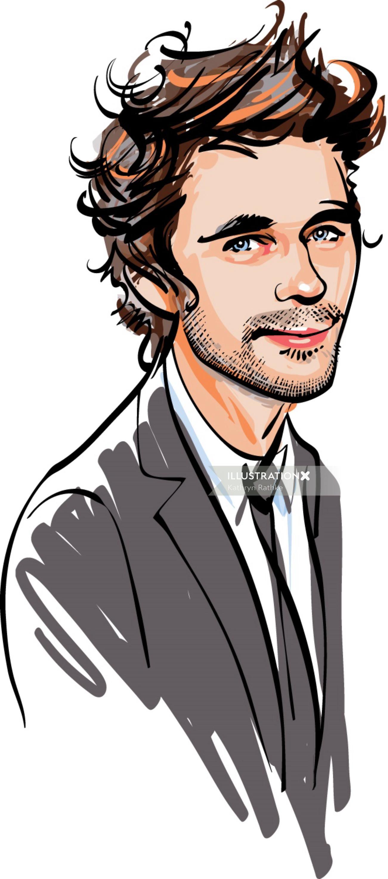 Portrait of Ben Whishaw