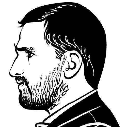 Portrait of Bearded Entrepreneur