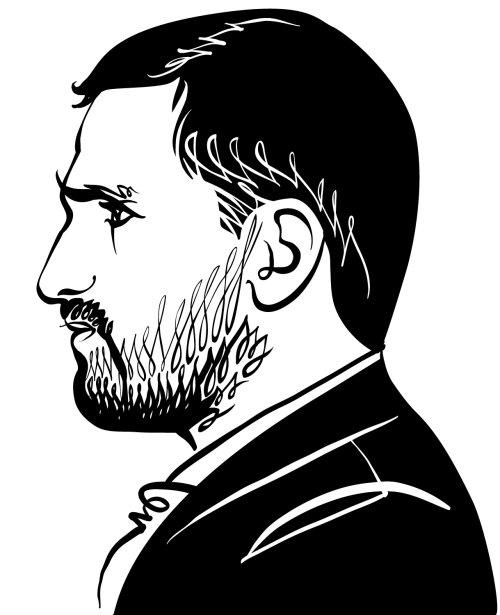 Portrait d'un entrepreneur barbu