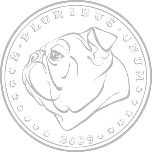 Pièce avec visage de chien