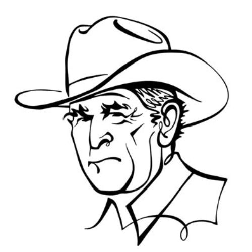 Animation portrait of Bush Winces