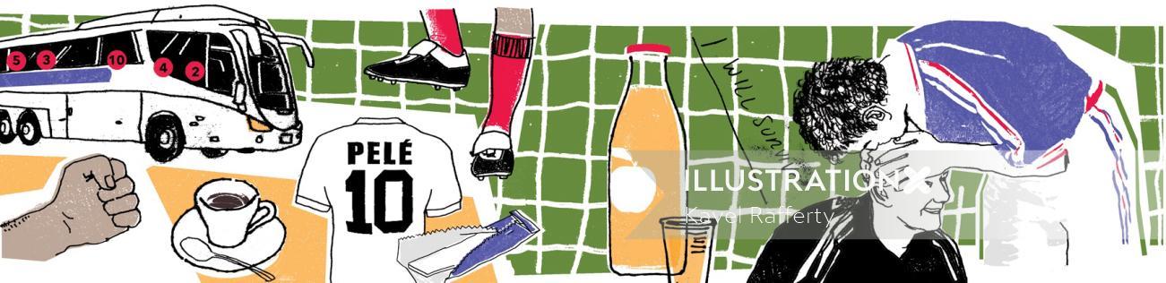 Lucky charms of Fifa Football