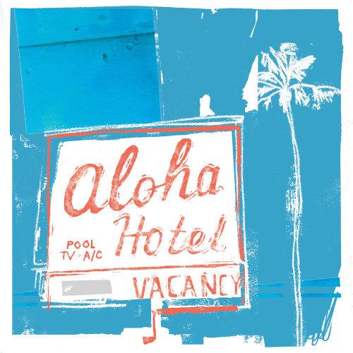 Letras del hotel Aloha