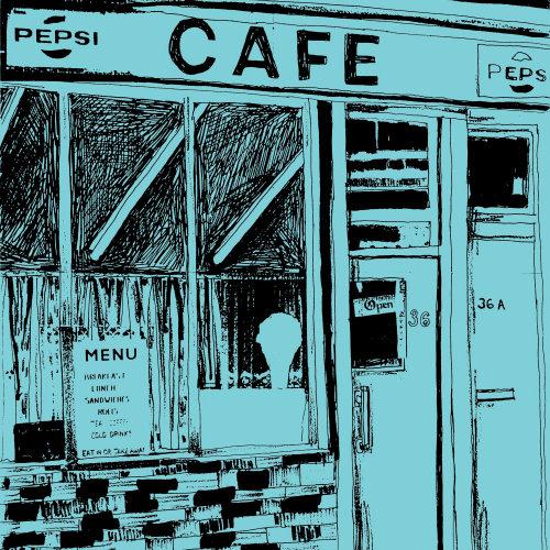 Lugares de café y arquitectura de ubicación