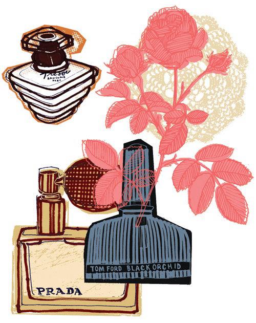 Perfume Floaral moda belleza