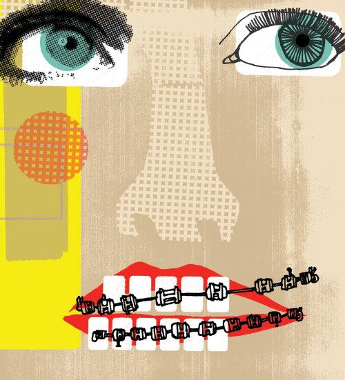 Ilustración para ortodoncia