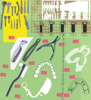 Dentist tools clipart