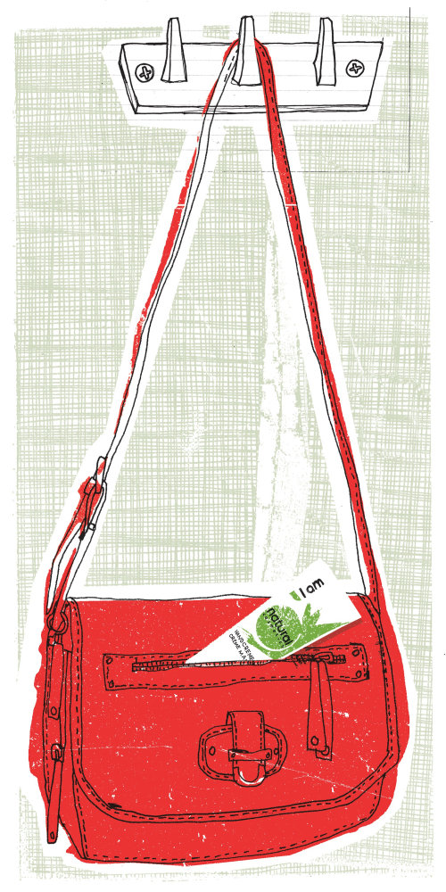 Ilustración de bolso