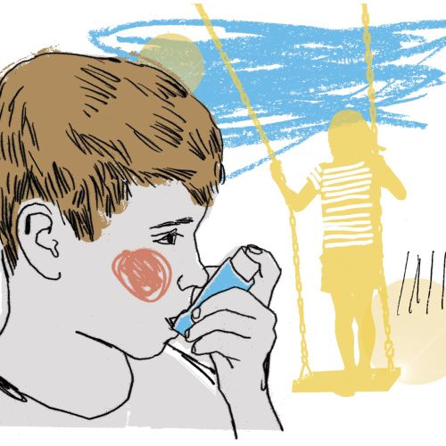 Breath Easy Children asthma graphic