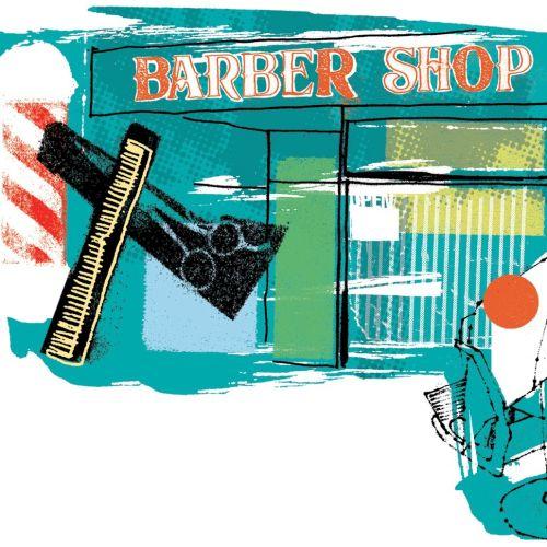 An illustration of Barber Shop