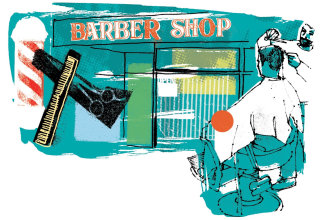 An illustration of Barber Shop
