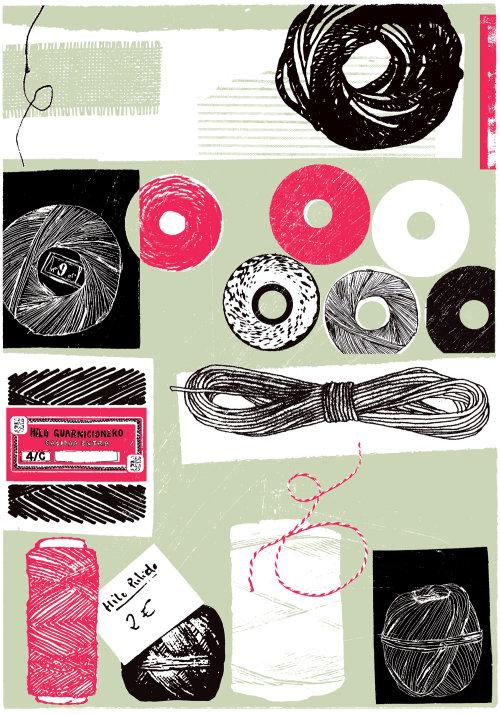 Icono de tienda de cuerdas