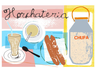 horchateria illustration