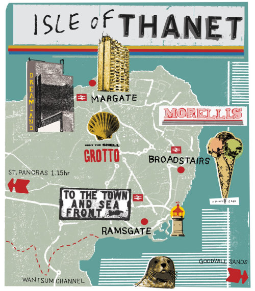 Maps isle of thanet