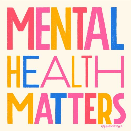 Calligraphy & hand lettering of mental health matters