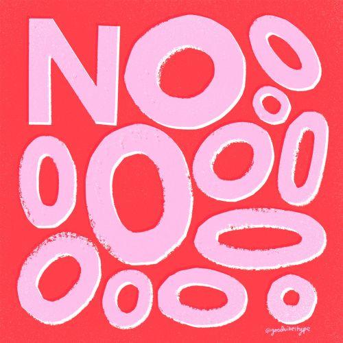 Calligraphy art of No
