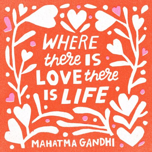 where there is a love, there is a life
