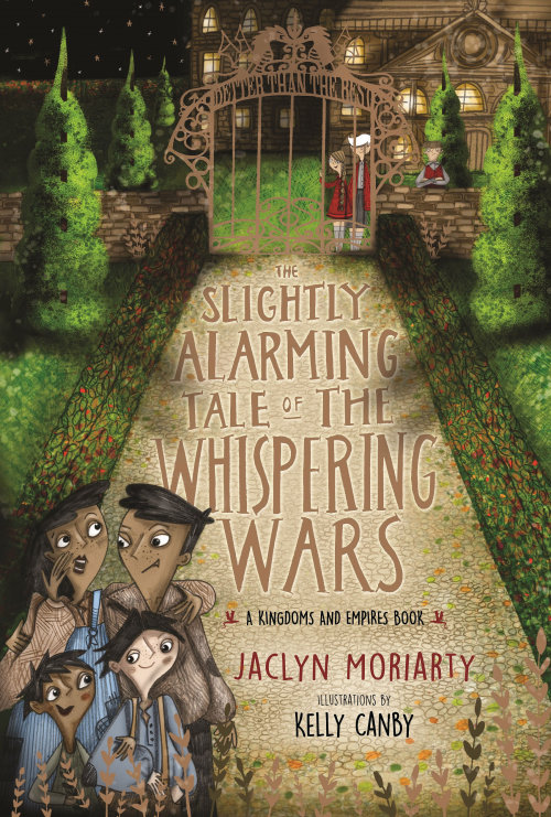 "Book Cover design for Slighty Alamring Tale ""The Whispering Wars"