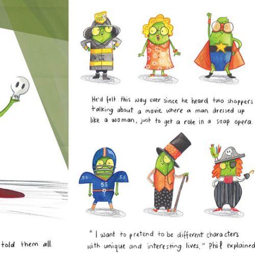 Character design Frog prince