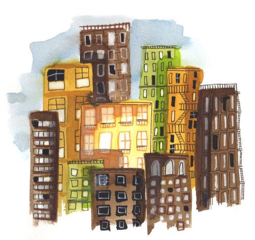 建筑城市建筑