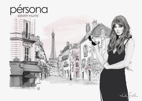Illustration for Persona Cosmetics