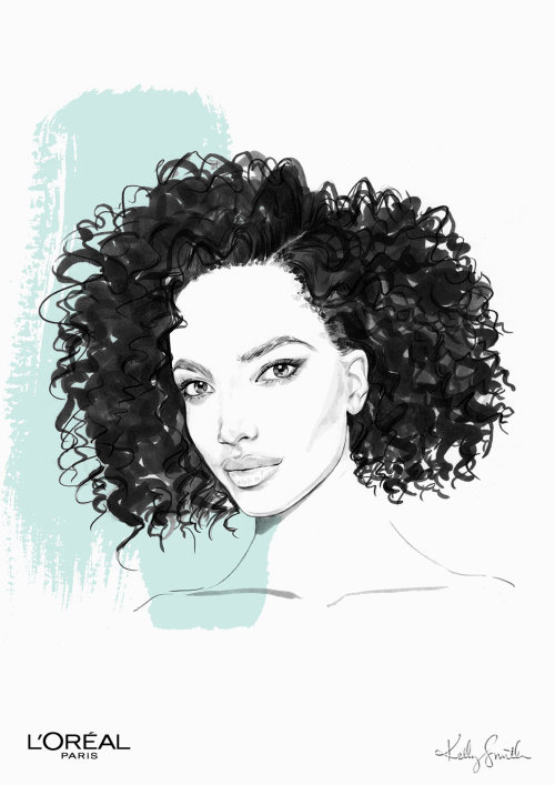 Illustration for L'Oréal Paris