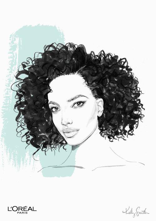 Ilustração para L'Oréal Paris