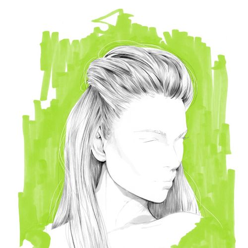 Illustration for Redken 5th Avenue NYC