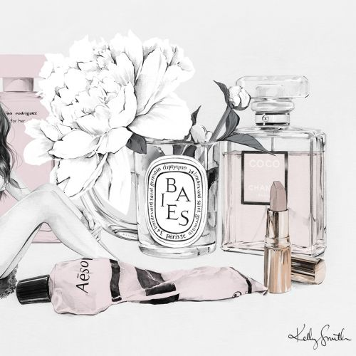 Fashion illustration by Kelly smith