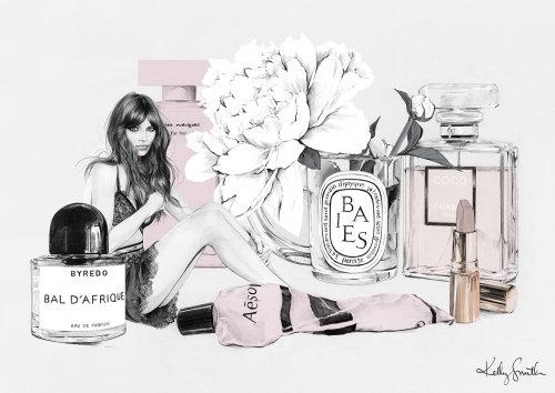 Ilustração de moda por Kelly smith