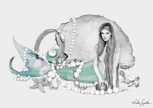 Illustration of Mermaid