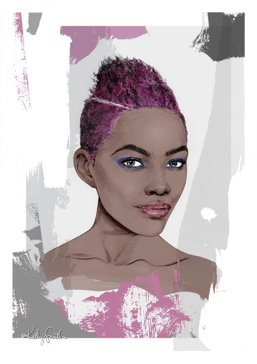 Ilustração para Redken