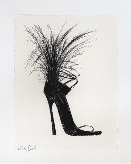 Obra de arte de Saint Laurent Heel